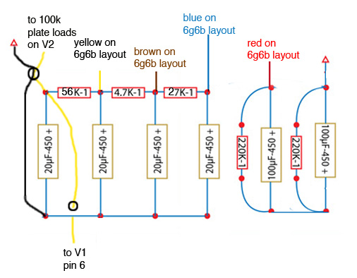 vintage amps bulletin board  view topic  doghouse layout for g, schematic